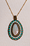 Turquoise Amazonite Necklace #FR16-MSAM-PS-TL