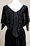 Black Velvet Handkercief style Cape # Cape 2317 (Limited Edition)
