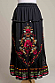 Romantic Long Embroidered Chiffon Skirt (Limited Edition) #SK5005-17