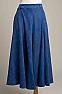 Denim Blue Ladies Gaucho #SH1209-17 (10 days to ship)