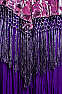 Exquisite Burntout Velvet One Of A Kind Cape CAP10517 (Limited Edition)