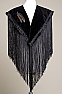 Steer Head Hands Beaded Applique Shawl (10 days to ship) SH1005-17 Limited Edition