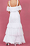 Western Boho Inspired Wedding Dress (4 weeks to ship) #DRW1213-17Limited Edition