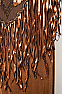 Beaded Buffalo Copper Color Shawl #SH1001-17