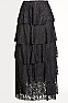 Layered Long Lace Skirt. #SK502016JST