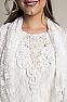Elegant Western Wedding Wear Outfit #01118 Neck Closeup