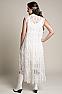 Elegant Western Wedding Wear Outfit #01118 Back Full