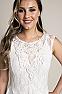 Elegant Western Wedding Wear Dress #D1118 Front Closeup 1
