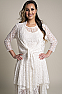 Western Wedding Wear Lace Outfit 10 - Ann N Eve Exclusive Womens Western Wear Design