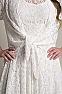 Western Wedding Wear Tie Front Lace Bolero Coverup 4 - Ann N Eve Exclusive Womens Western Wear