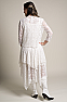 Western Wedding Wear Tie Front Lace Bolero Coverup 5 - Ann N Eve Exclusive Womens Western Wear