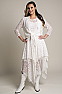 Western Wedding Wear Tie Front Lace Bolero Coverup 6 - Ann N Eve Exclusive Womens Western Wear
