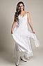 White Bohemian Western Wedding Dress in Cotton 2 - Ann N Eve Exclusive Womens Western Wear