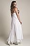 White Bohemian Western Wedding Dress in Cotton 5 - Ann N Eve Exclusive Womens Western Wear