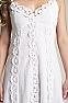 White Bohemian Western Wedding Dress in Cotton 7 - Ann N Eve Exclusive Womens Western Wear