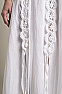 White Bohemian Western Wedding Dress in Cotton 9 - Ann N Eve Exclusive Womens Western Wear