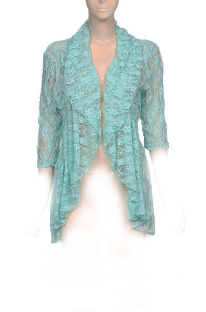 Sexy Lace Jacket Top