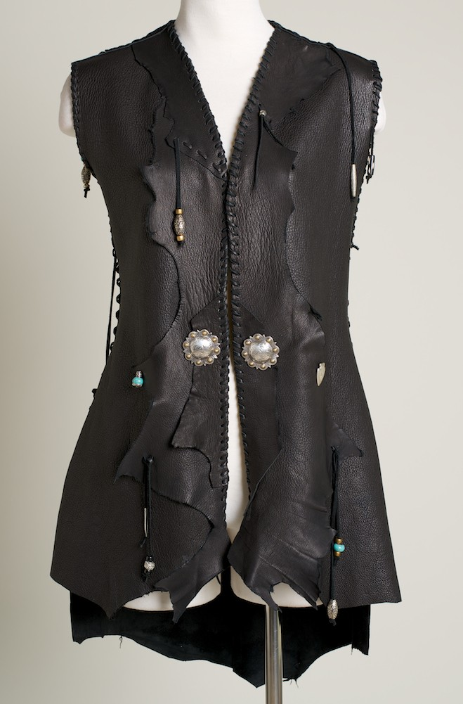 Leather Handmade Vest. (4 weeks to ship). #VST7000-17