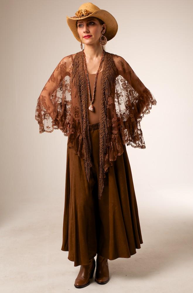 Elegant Western Style Lace Shawl 10 Days To Ship Ann N