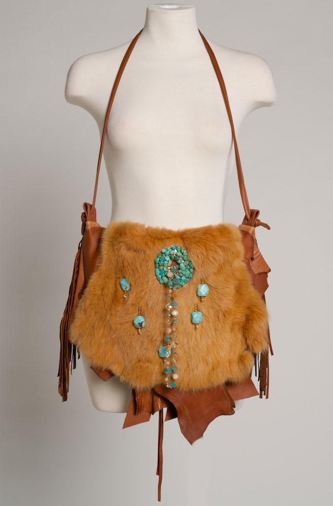 Deer Skin handbag One of a Kind. (4 weeks to ship). #HB1000-16