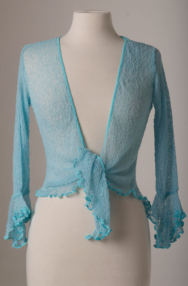 Boho Chic Crochet Tie Front Top (7 days to ship)