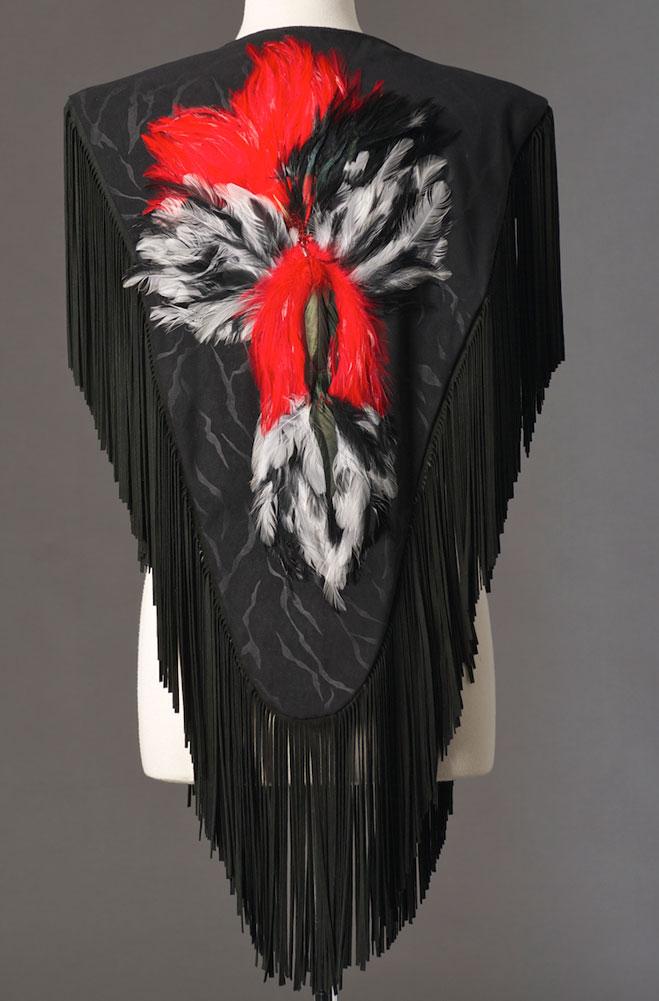 Designer Handmade Western Shawl (2 weeks to ship)