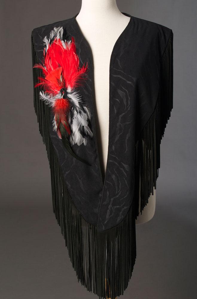 Designer Handmade Western Shawl. (2 weeks to ship). #2058 Jane