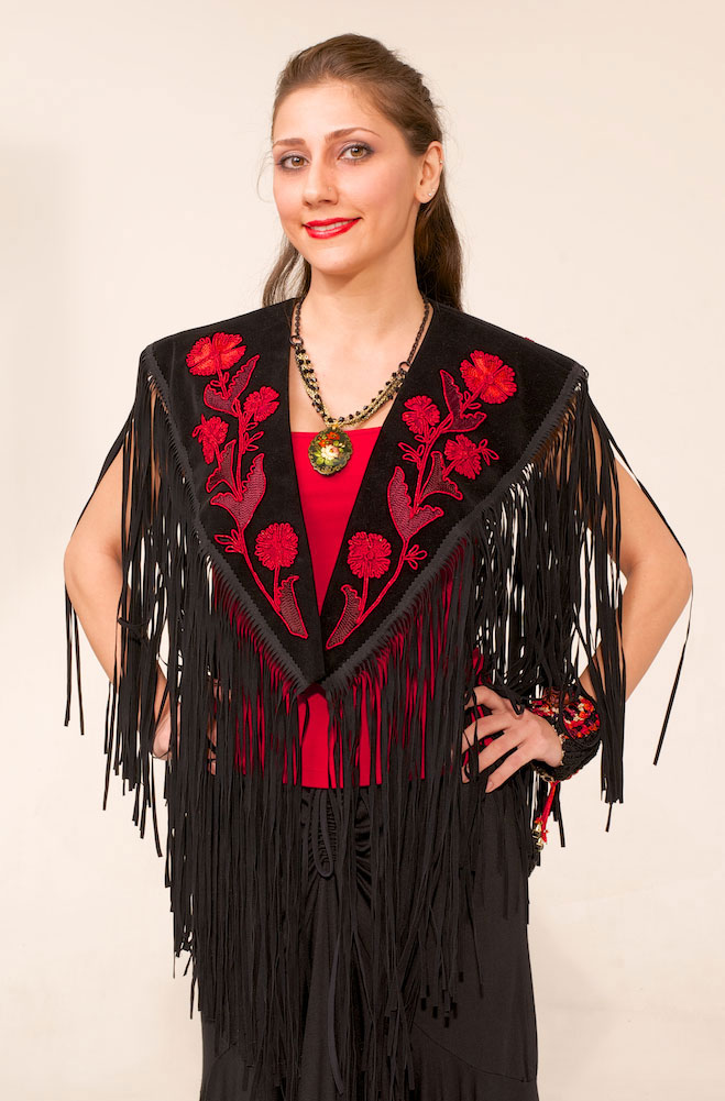Exquisite Western Embroidered Shawl