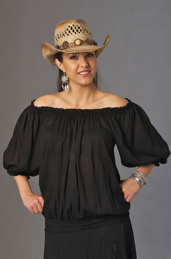 a33ac83d2e6a5 Sexy White Western Off Shoulder Top (7 days to ship) - Ann N Eve ...