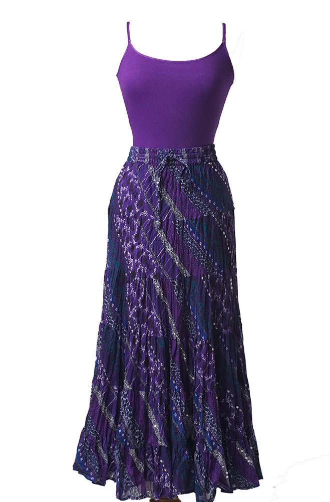 Tiered Sequined Sexy Skirt. (7 days to ship). #5079