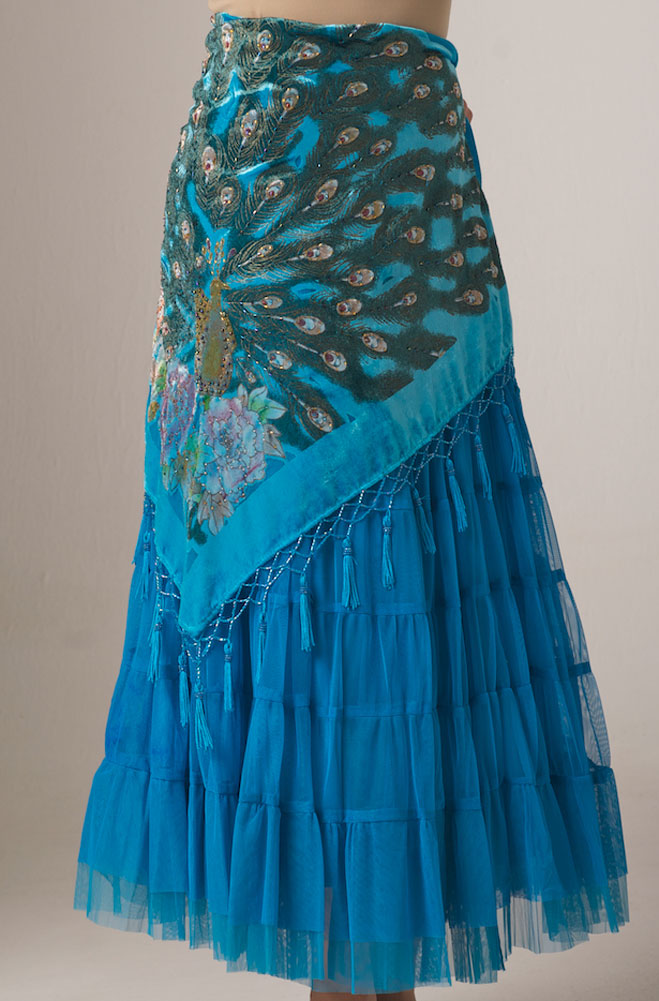Vintage Collection Turquoise Skirt (2 weeks to ship)