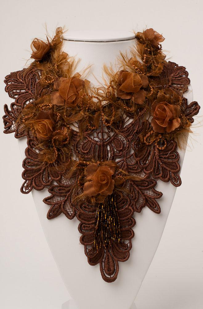 Vintage Copper Embellished Neck Piece. (3 days to ship). #NCK15