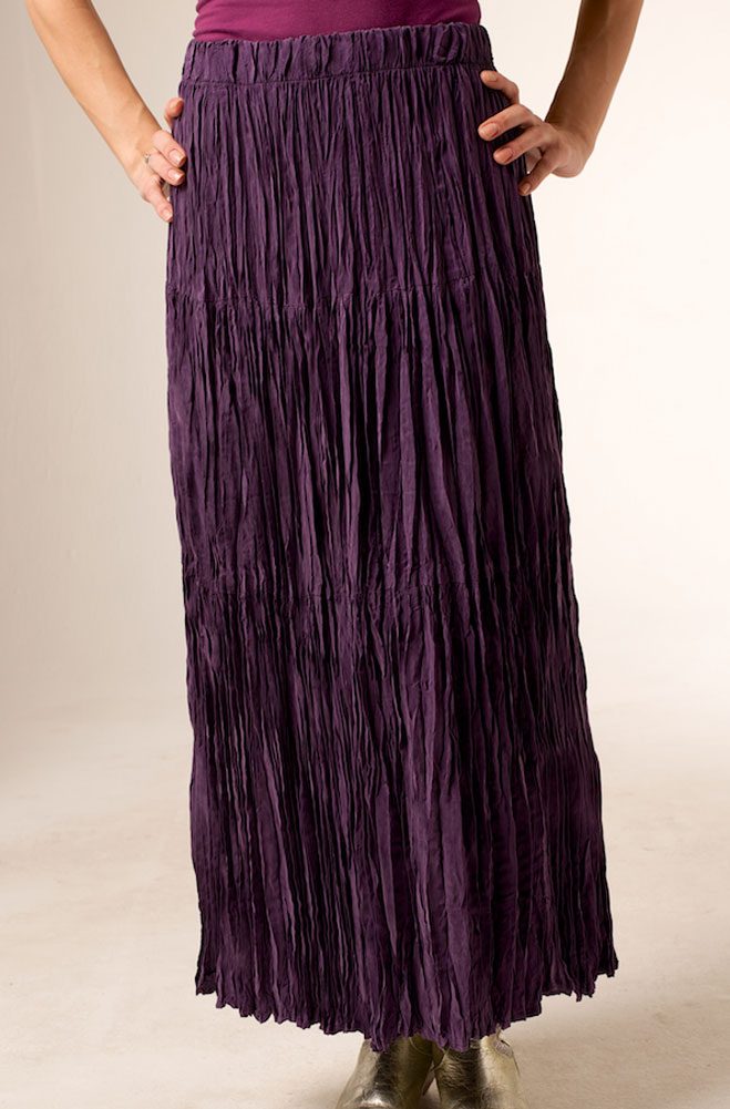 Western Broomstick Long Skirt