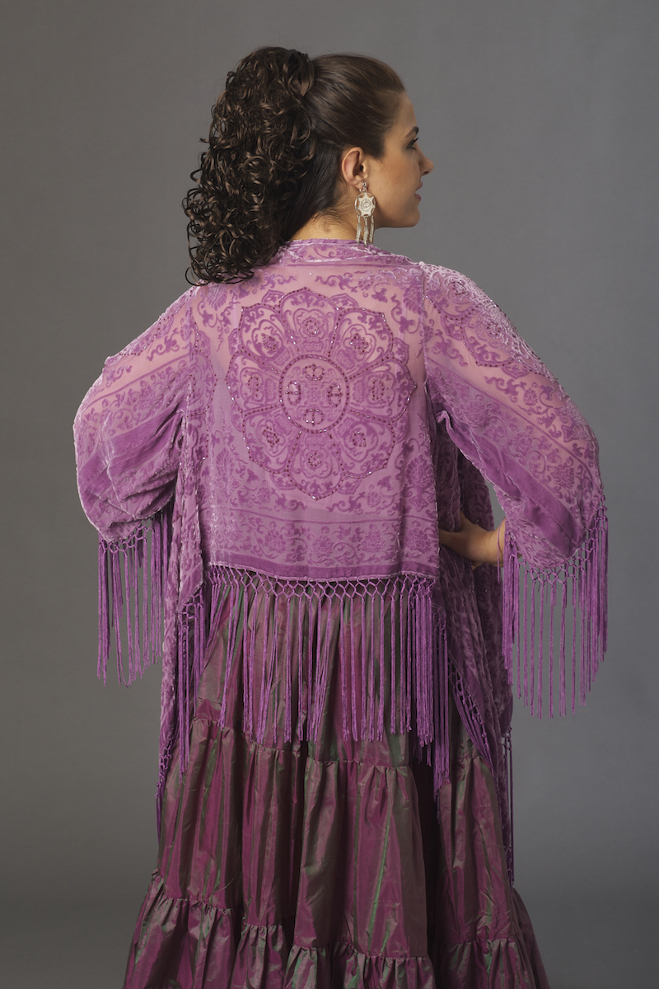 Western Orchard Color Beaded Top