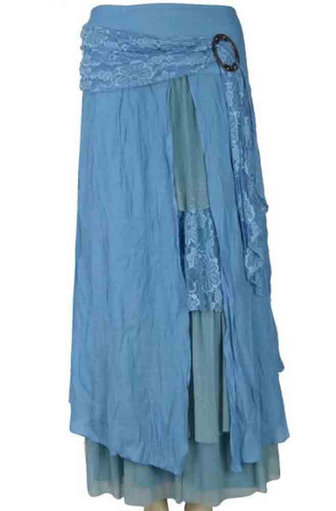 Romantic Lacy Skirt. #AGL 5090