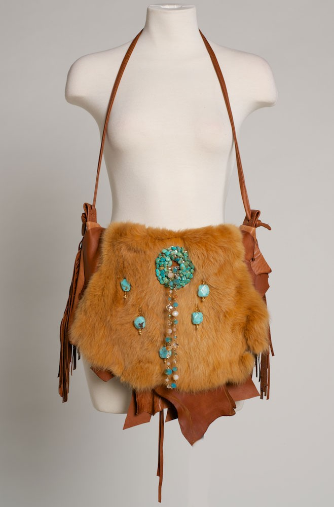 Deer Skin handbag One of a Kind. (4 weeks to ship). #HB1000-16