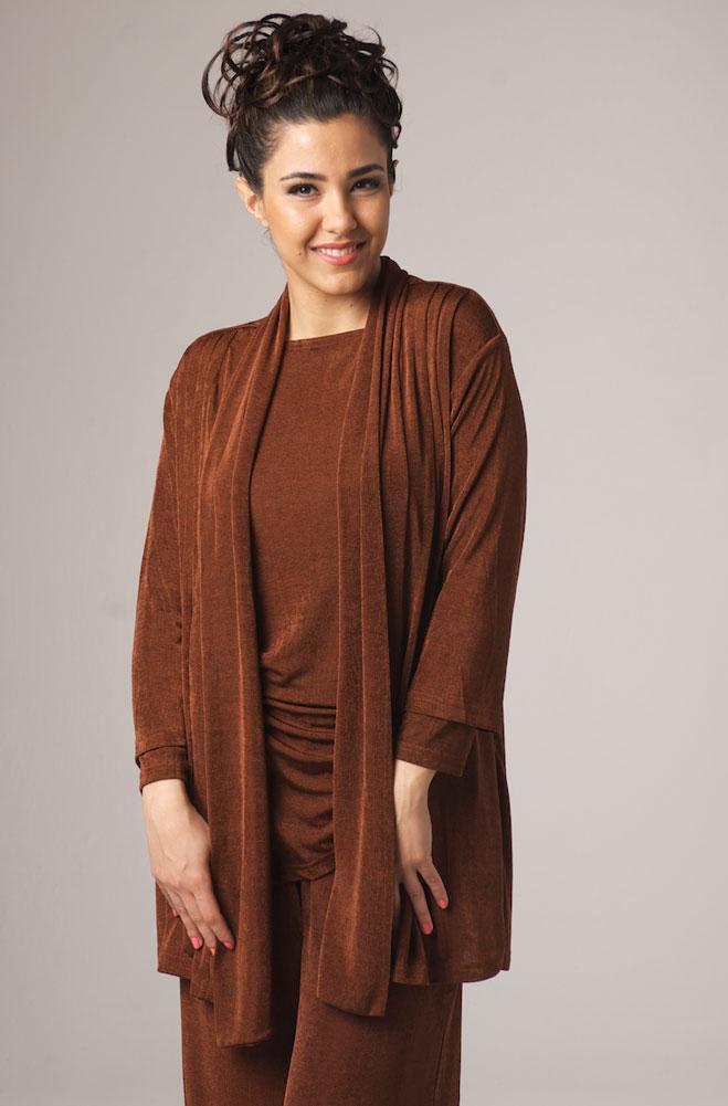 Copper Color Hip Length Jacket. #6045J