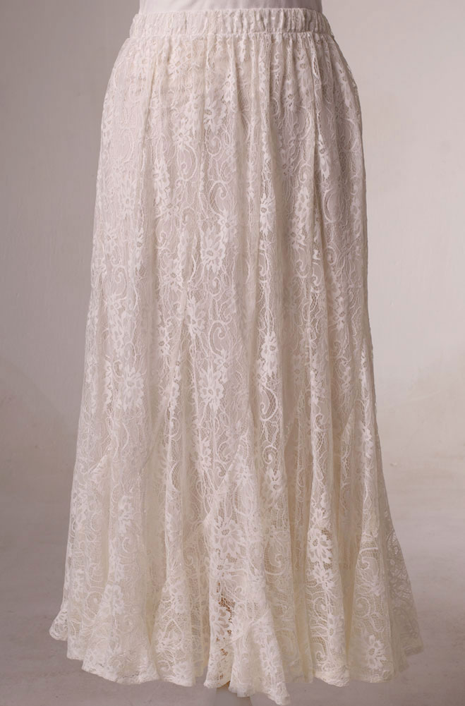 Sexy Fit and Flare Lace Skirt. (7 days to ship). [Limited Edition]. #5096W