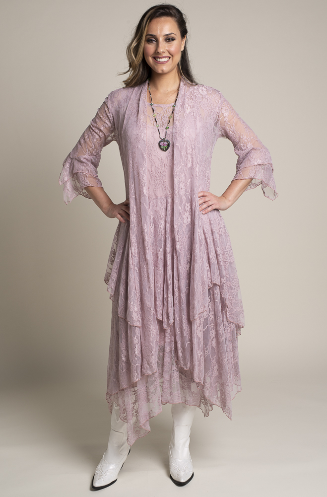 Formal Western Wear Dusty Rose Outfit. (2 weeks to ship). #Outfit 1119