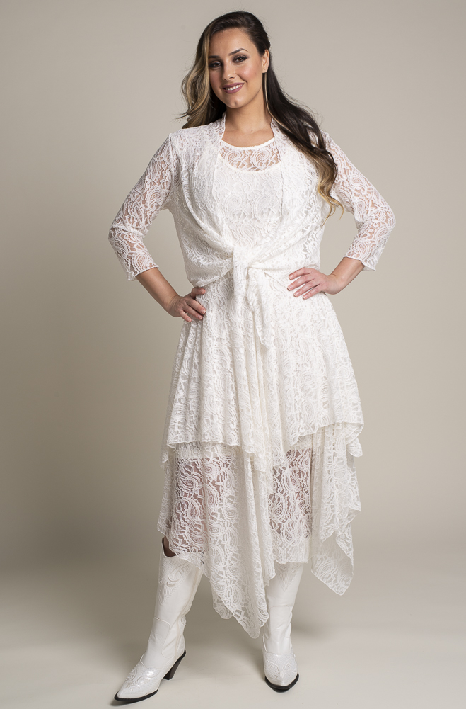 Western Wedding Lace Outfit. (2 weeks to ship). #Outfit 1118