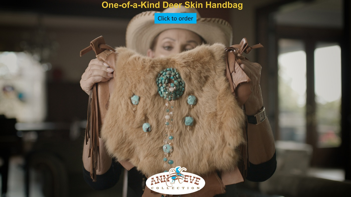 One of a kind Deer Skin Handbag