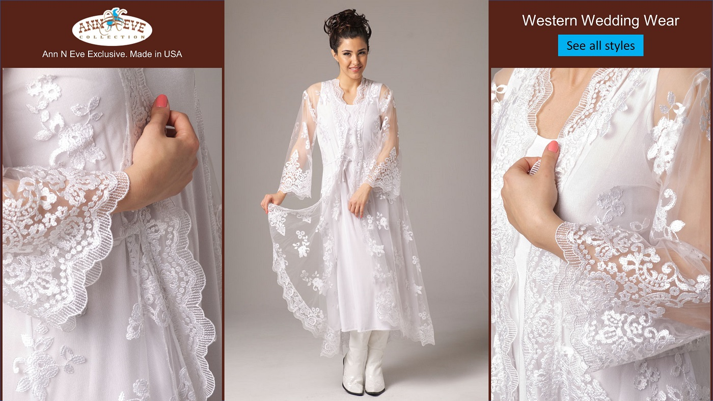 Western Wedding Wear -  Exclusively by Ann N Eve