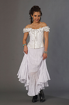 Romantic Frontier Western Wedding Outfit. (7 days to ship). [Limited Edition]. #Outfit0070WED