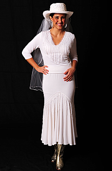 Sexy Western Wedding Outfit With Fringe. (10 days to ship). [Limited Edition]. #Outfit0078WED