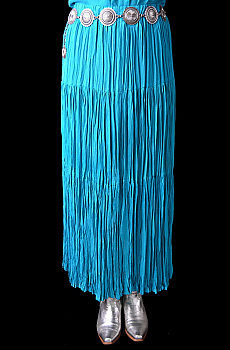 Broomstick tiered long skirt. #0019SK0015