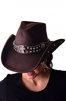 Deep Chocolate Western Women Hat Moment 4 Life. (7 days to ship). #0592CH-HT