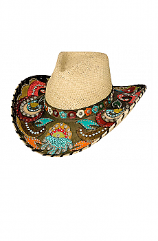 Western Hat Gypsy Queen. (7 days to ship). #2637Hat
