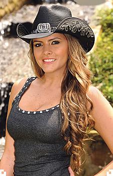 Women's Straw Cowboy Hat Cowgirl Fantasy. (7 days to ship). #2640Hat