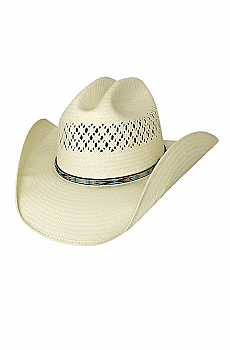 Shapeable Straw Modern Cowboy Hat. (7 days to ship). #2780Hat