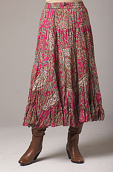 Sexy Broomstick Long Skirt. #5089FUS